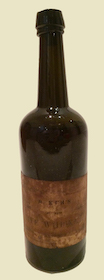 Small image of pre-Civil War whiskey bottle