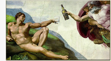 Michelangelo's Sistine Chapel reimagined with Ardbeg